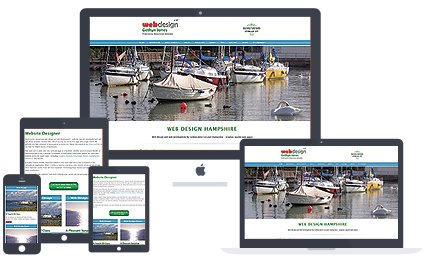 mobile friendly website design image - web design  Portsmouth, Fareham and Gosport, Hampshire
