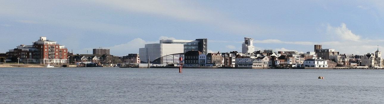 Portsmouth Web Designer Gethyn Jones - photo of the Camber Docks