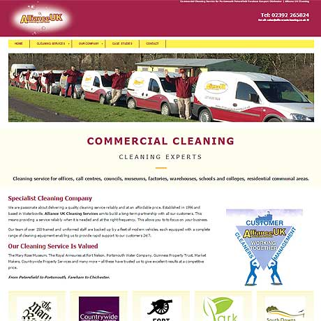 Alliance UK Cleaning Services, Portsmouth, Hampshire