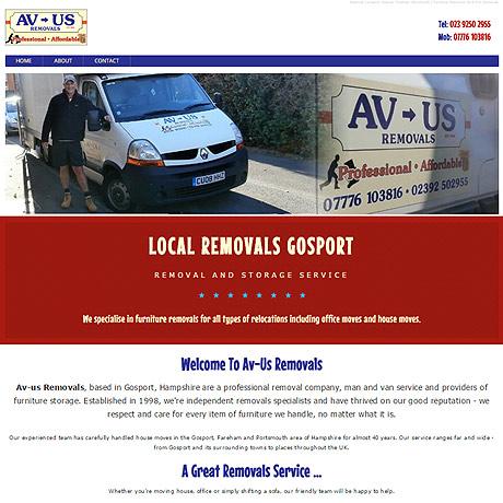 AVUS Removals, Gosport