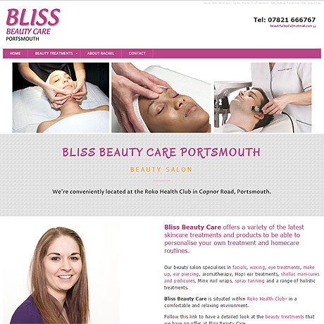 Bliss Beauty Salon, Portsmouth