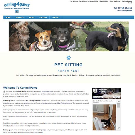 Caring4paws, Greenhithe