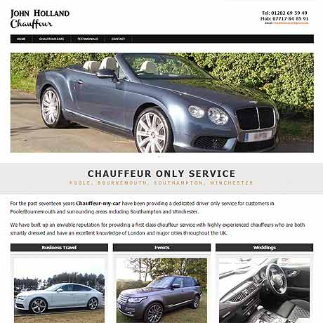 Chauffeur, Dorset and Hampshire