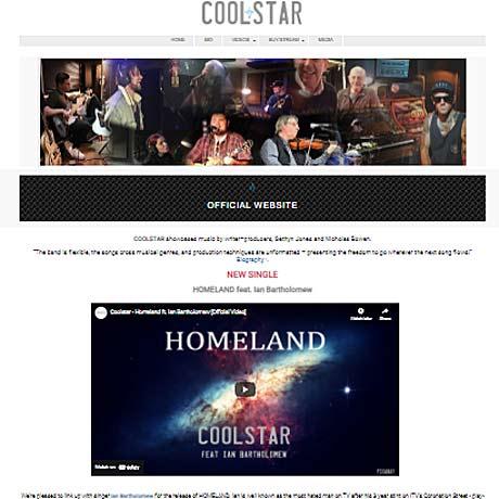 Coolstar - web design Gosport