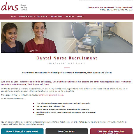 Dental Nurse Staff Agency, Hampshire