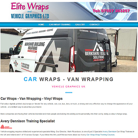 Elite Car Wraps, Gosport, Hampshire