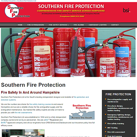 Southern Fire Protection, Hampshire