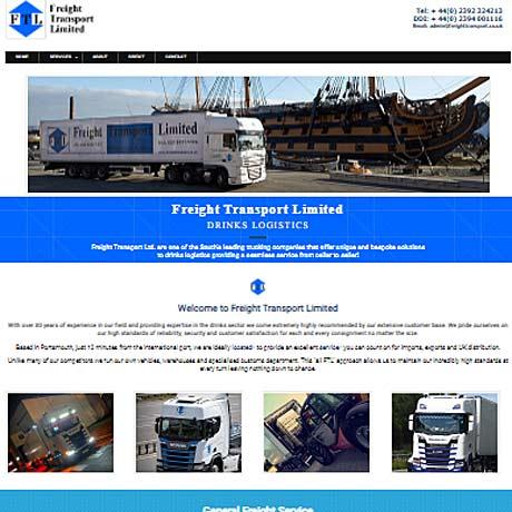 web deisgn for Portsmouth