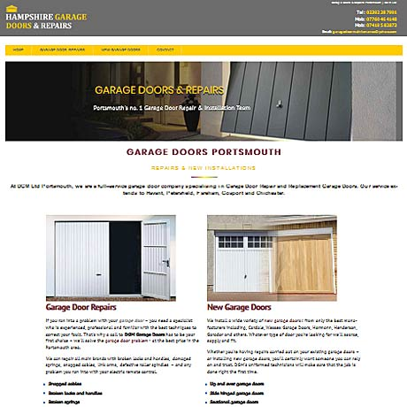 Garage Doors Portsmouth
