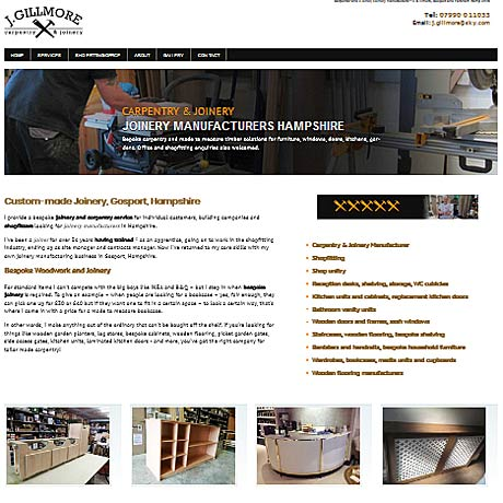 J Gillmore Carpentry, Gosport, Hampshire