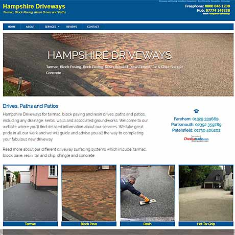 Hampshire Driveways, Fareham, Portsmouth, Petersfield