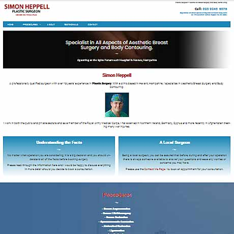 web deisgn for Portsmouth, Havant, Fareham, Gosport, Emsworth and Chichester