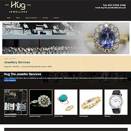 Hug The Jeweller, Gosport