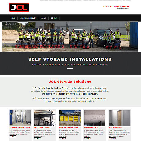 JCL Self Storage Partitioning, UK, Europe