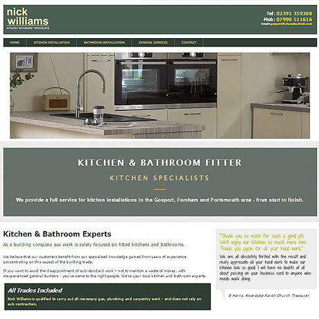 Kitchen fitter Gosport, Hampshire