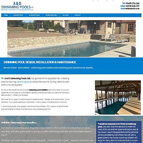 A & D Swimming Pools