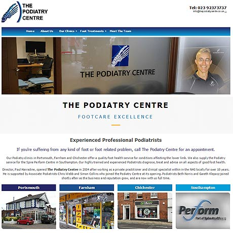 Podiatry Centre, Portsmouth Hampshire