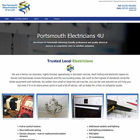 portsmouth electricians