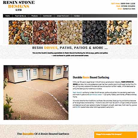 Resin Stone Drives
