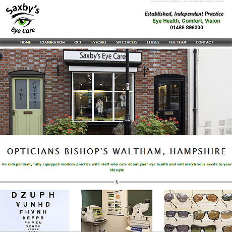 Saxby's Eyecare, Bishop's Waltham