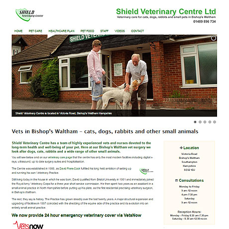 Shield Veterinary Centre, Bishops Waltham