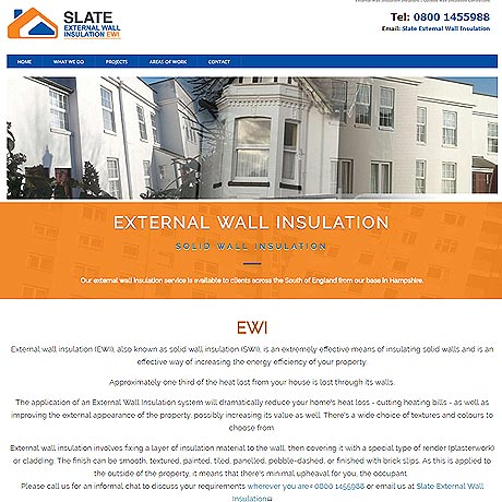 Slate External Insulation Gosport, Fareham, Southampton and Portsmouth