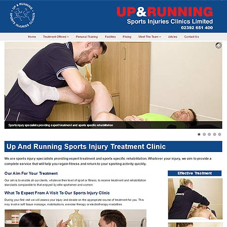sport physio Portsmouth