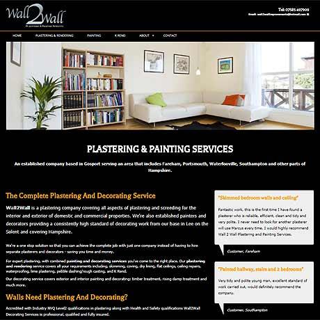 Wall2Wall Plastering & Painting, Gosport & Fareham