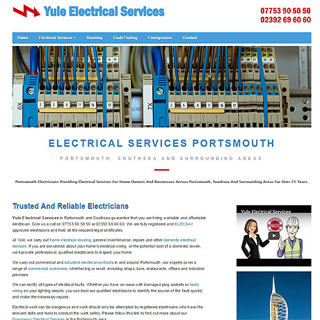 Yule Electrical Services in Portsmouth